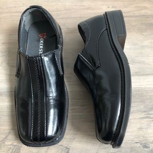 Boys Toddler Faux Patent Leather Dress Shoes
